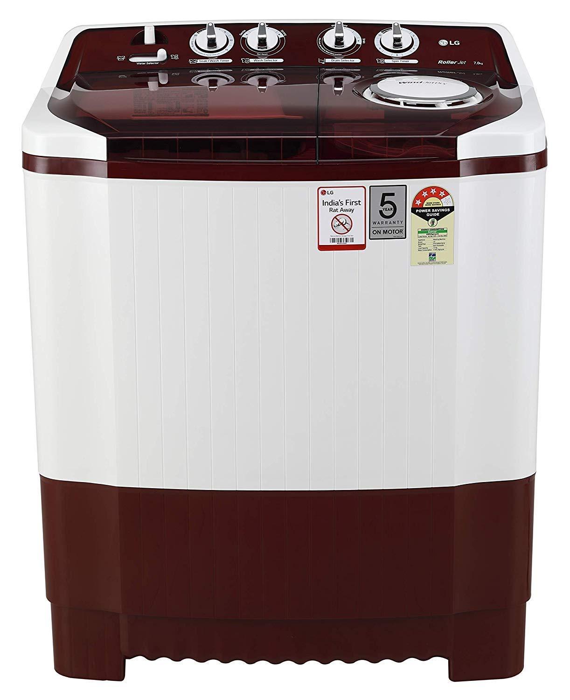 LG 7 kg 4 Star Semi-Automatic Top Loading Washing