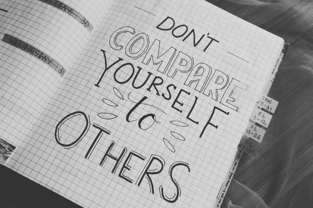 Don't Compare Yourself with anyone