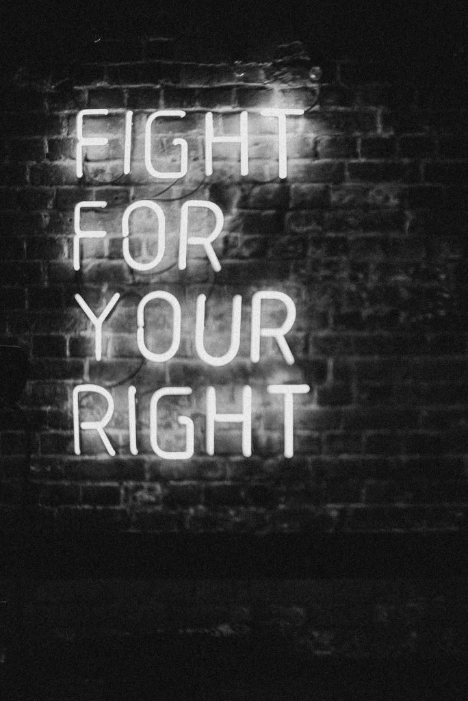 Why we should fight for our rights
